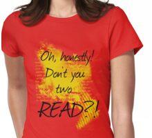 Badass Academic Womens Fitted T-Shirt