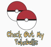 Check Out My Pokeballs Pokemon Tee by BowTieGuy