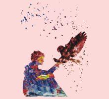 Harry Potter Eagle Owl Baby Tee