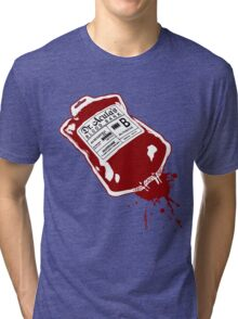 Dr. Acula's Blood Bank Tri-blend T-Shirt