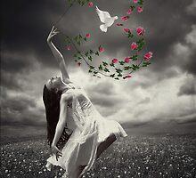 Hope Dangling... by Karen  Helgesen