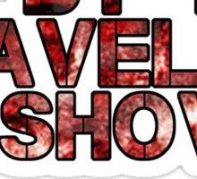 Traveling Shovel of Death Sticker