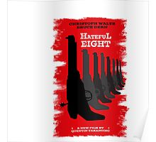 The Hate full eight quentin tarantino 2 Poster