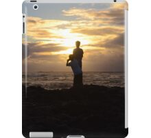 Sandy Beach Sunrise iPad Case/Skin