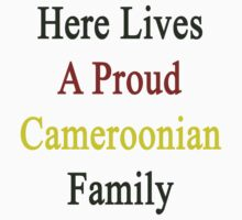Here Lives A Proud Cameroonian Family  by supernova23
