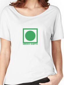 Green Earth Women's Relaxed Fit T-Shirt
