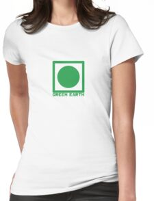 Green Earth Womens Fitted T-Shirt