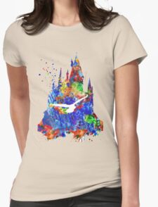 Harry Potter Hogwarts Castle Womens Fitted T-Shirt