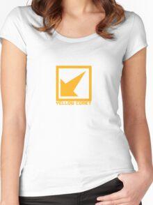 Yellow Comet Women's Fitted Scoop T-Shirt