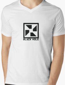 Blach Hole Mens V-Neck T-Shirt