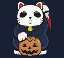 Halloween Lucky Cat by Demonigote