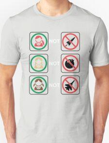 Redheads Not Warheads... T-Shirt