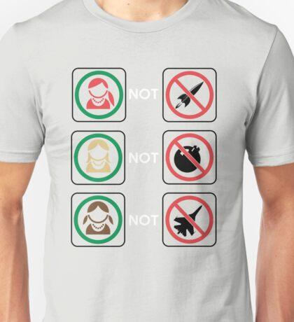 Redheads Not Warheads... Unisex T-Shirt
