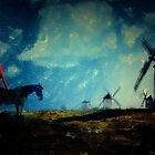 Tilting at Windmills  by Galen Valle
