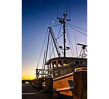 Moored.... Photographic Print