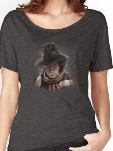 Fourth Doctor - Tom Baker Women's Relaxed Fit T-Shirt
