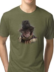 Fourth Doctor - Tom Baker Tri-blend T-Shirt
