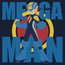 Mega Emblem Minimal by jax89man