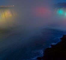 Niagara Falls as a Rainbow by JamesA1