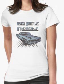 Big Jim's Motors Womens Fitted T-Shirt