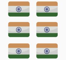 Flags of the World - India x6 by CongressTart