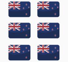 Flags of the World - New Zealand x6 by CongressTart