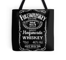 Hogsmeade's Old No.7 Brand Firewhiskey Tote Bag