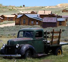 Abandoned truck by Bockman