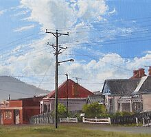Gatehouse Street, Moonah, Tasmania by Michael Bessell