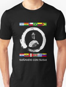 Dreaming of Sushi - South America Unisex T-Shirt