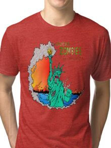 Zombies of America Tri-blend T-Shirt