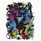 Gamer 4 Life by Skree