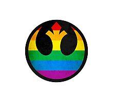 Rainbow Rebellion Photographic Print