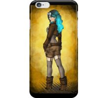 Steampunk Girl Pinup iPhone Case/Skin