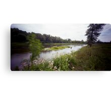 Pinhole Study: Grand River Pastorale Canvas Print