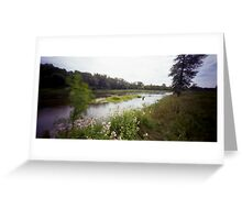Pinhole Study: Grand River Pastorale Greeting Card