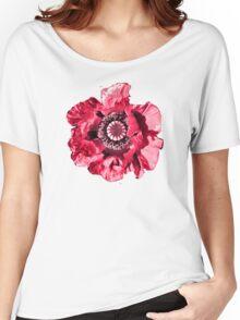 PINK/RED TEE SHIRT/KIDS TEE/STICKER Women's Relaxed Fit T-Shirt