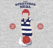 Robert Scratcher Neal, Geelong (on Goggin Grey) by Chris Rees