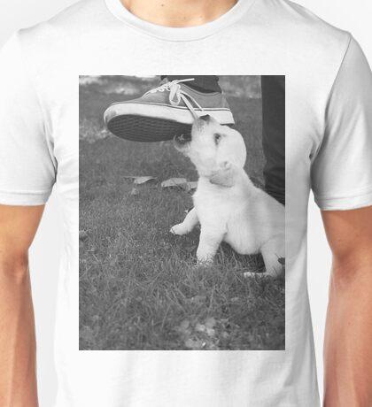 Playful Pup Unisex T-Shirt