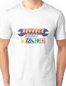 Advance Wars Logo with Factions Unisex T-Shirt