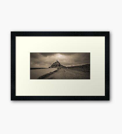 Le Mont Saint Michel Framed Print