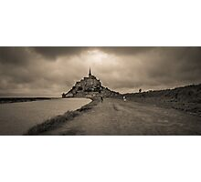 Le Mont Saint Michel Photographic Print
