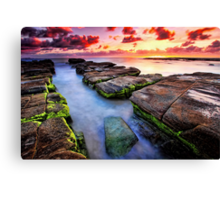 Soldiers Beach Sunrise # 2 Canvas Print
