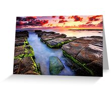 Soldiers Beach Sunrise # 2 Greeting Card