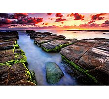 Soldiers Beach Sunrise # 2 Photographic Print