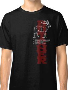 Butcher Deer Classic T-Shirt