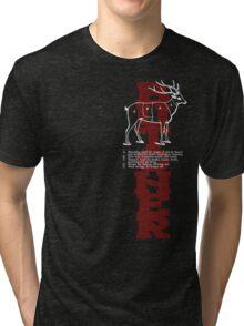 Butcher Deer Tri-blend T-Shirt