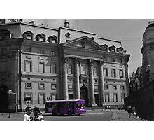Purple Rush Photographic Print