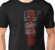 Butcher Cow Unisex T-Shirt
