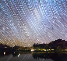 Milky Way Startrails by NCHANT
